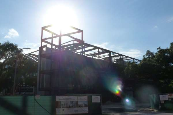 Harrell Medical Education Building - Construction